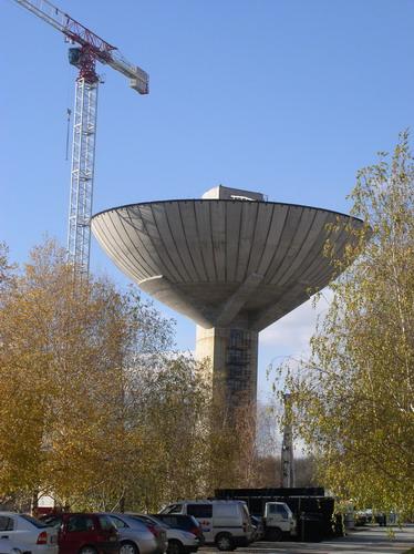 Budafoki víztorony - betonból