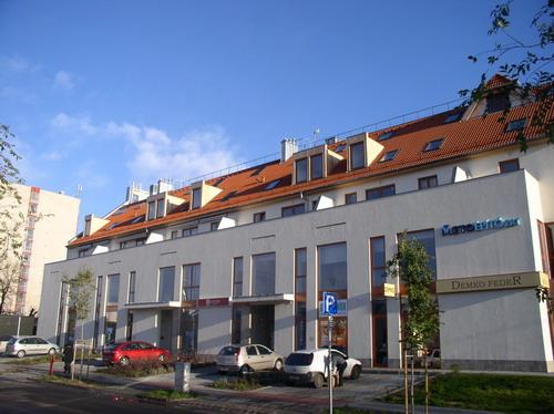 Corvin Ház - betonból