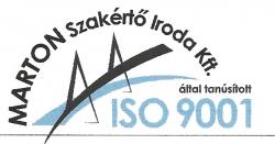 Tanusítvány ISO9001